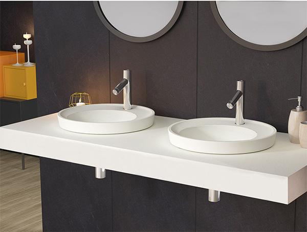 Modern tasarım ankastre lavabo EkavipPlus