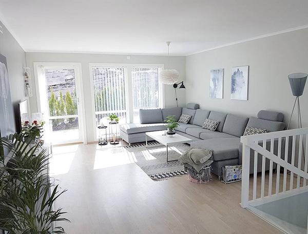 Çalışma olmadan bir oturma odası nasıl daha parlak hale getirilir