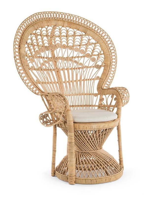 Rattan Peackok sandalye
