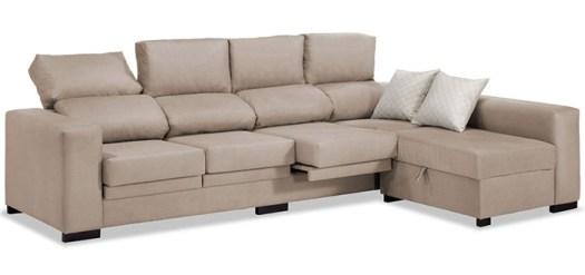 Sofá de 4 plazas grande