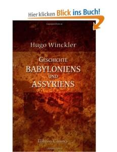Geschichte Babyloniens und Assyriens [Taschenbuch]