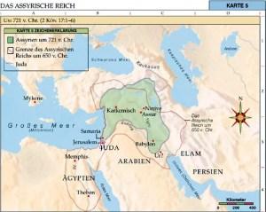 Das Assyrische Reich Quelle: https://www.lds.org