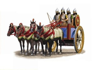 Assyrischer Streitwagen Quelle: www.kamar-zinnfiguren.de