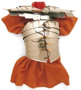 Brustpanzer eines römischen Legionärs