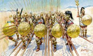 Römische Phalanx
