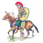Persische Kavallerie