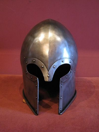 Barbuta Helm