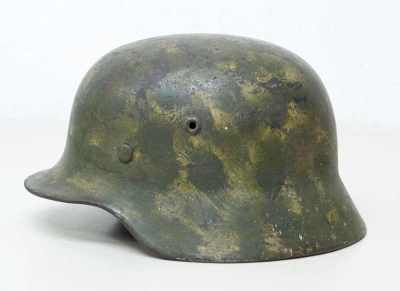 德国钢制头盔,型号M40