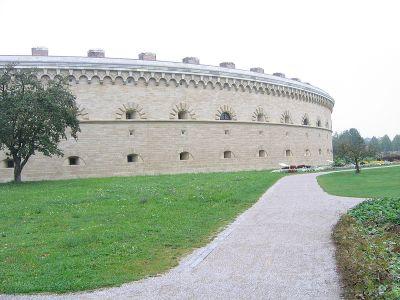 Reduit Tilly der ehemaligen Landesfestung Ingolstadt