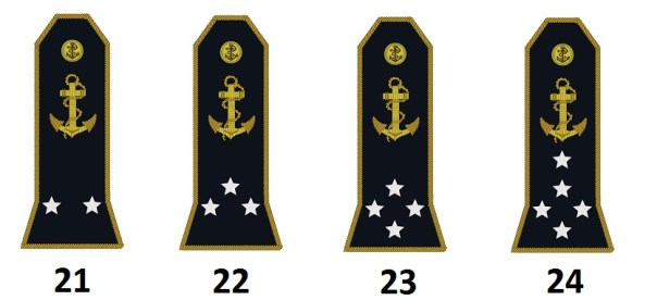 Admirals of the French Navy