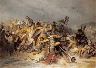 Bataille de Varus (Bataille de la forêt de Teutoburg)