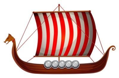 Викинги корабль, лодку дракона