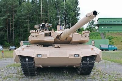 Cannone da 120mm rivoluzione MBT