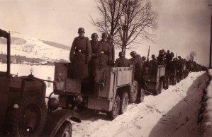 Motorisierte Infanterie der SS-Panzergrenadier-Division LSSAH