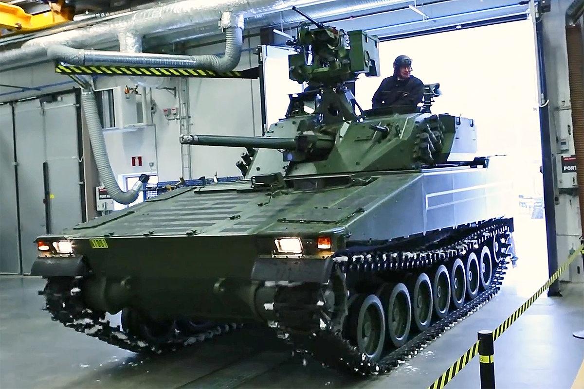 norwegen r u00fcstet seinen bae cv90 panzer auf