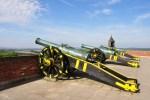 Kanonen auf der Festung Königstein