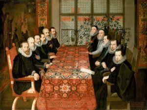 签署和平条约1604