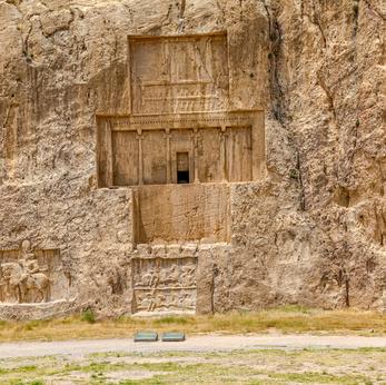 Felsgrab des Großkönigs Xerxes in Naqsch-e Rostam