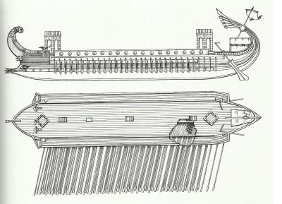 Römische Decereme im 2. Jahrhundert