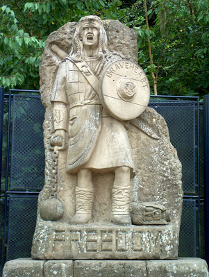 Monumento a William Wallace in Scozia
