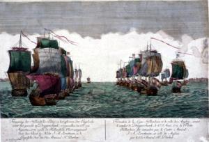 Die Seeschlacht bei der Doggerbank