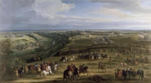 La cattura del Lussemburgo nel giugno 1684