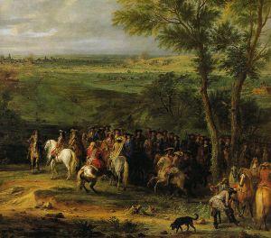 Luigi XIV di Francia conquista la città olandese di Maastricht nel 1673