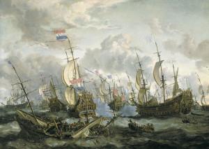 Bataille des Quatre Jours du 11 au 14 juin 1666
