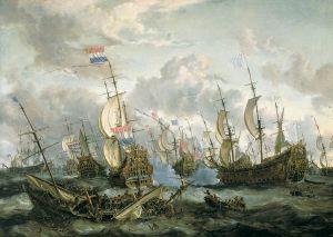 Viertageschlacht vom 11. bis zum 14. Juni 1666