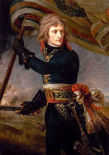 Bonaparte auf der Brücke von Arcole (Gemälde von Antoine-Jean Gros aus dem Jahr 1801)