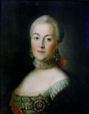 1760年俄罗斯的凯瑟琳二世