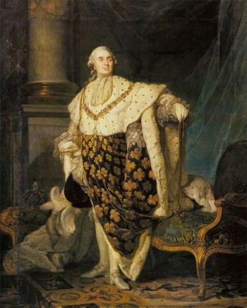 路易十六。 来自法国
