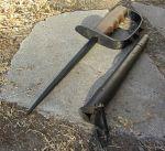 Grabendolch aus dem Ersten Weltkrieg