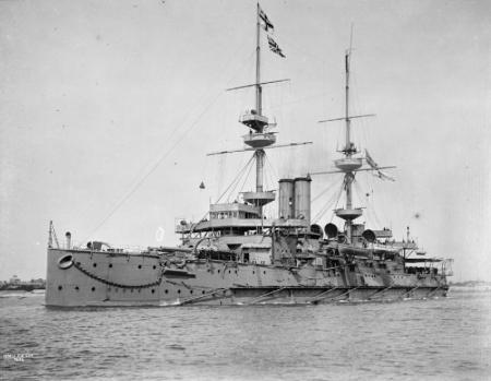 Das Einheits-Linienschiff HMS Caesar
