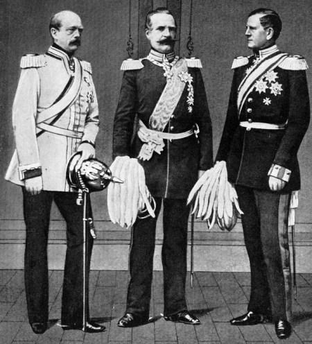 Bismarck, Roon und Moltke