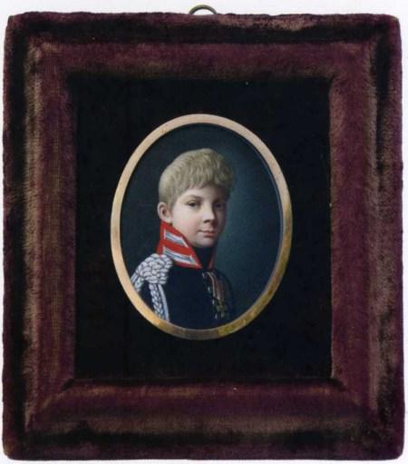 Der dreizehnjährige Prinz Wilhelm
