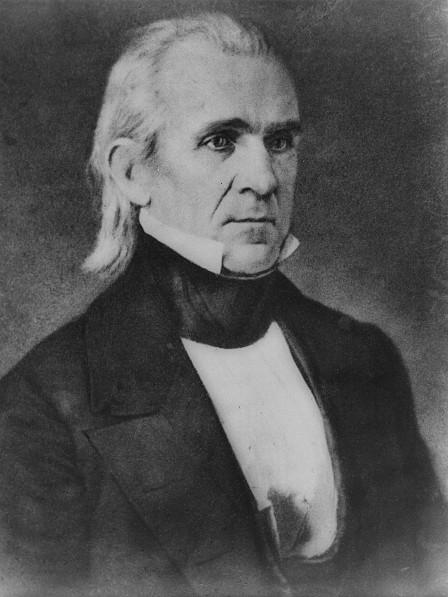 James K. Polk, der 11. Präsident der Vereinigten Staaten