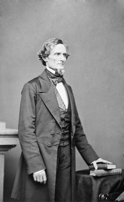 Jefferson Davis, Präsident der Konföderierten Staaten