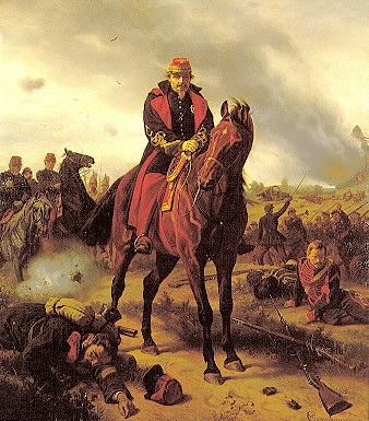 Napoléon III. bei Sedan, Gemälde von Wilhelm Camphausen