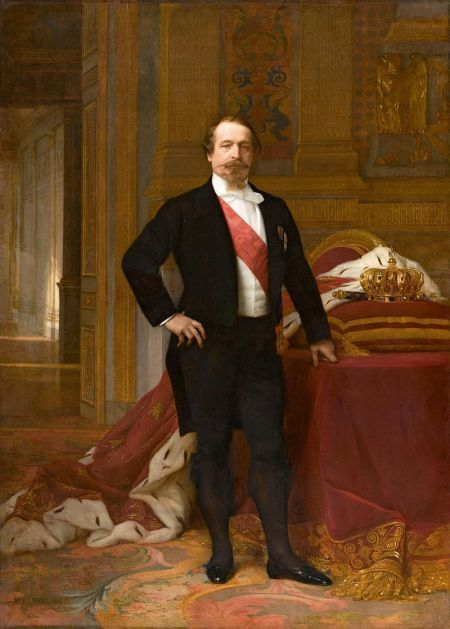 Napoleon III., Gemälde von Alexandre Cabanel, um 1865