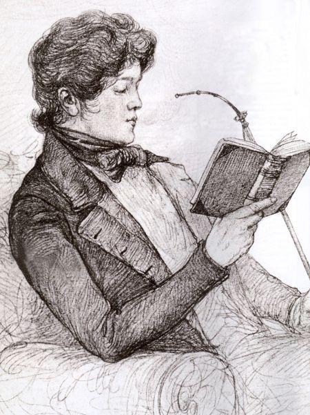 Otto von Bismarck als 19-jähriger Student in Göttingen