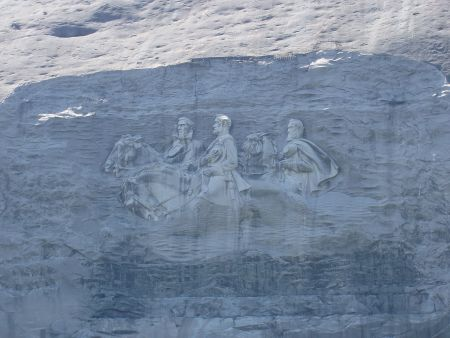 Stone Mountain Relief