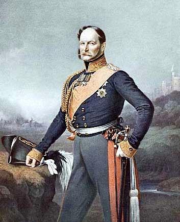 Wilhelm als Prinz von Preußen, Gemälde von Franz Krüger, zwischen 1840 und 1843
