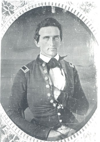 Leutnant Jackson um 1847