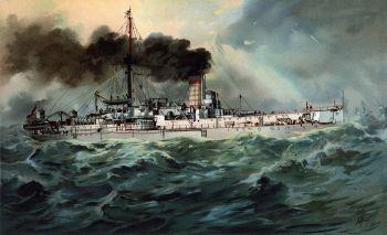 El buque hermano SMS Baden