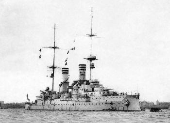 Schwesterschiff SMS Kaiser Barbarossa