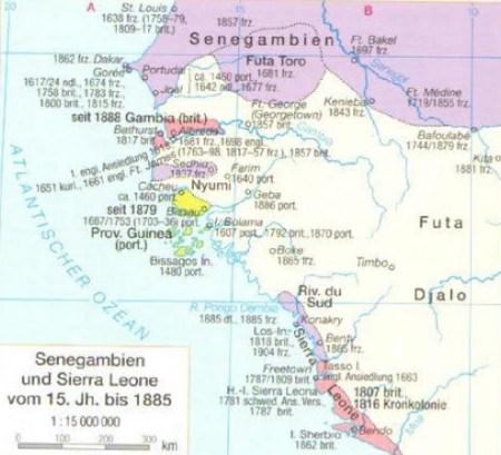 Westafrika 15. bis 19. Jahrhundert