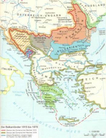 Балканы в 19-ом веке