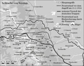 凡尔登战役1916年