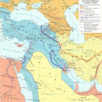 La guerre au Moyen-Orient